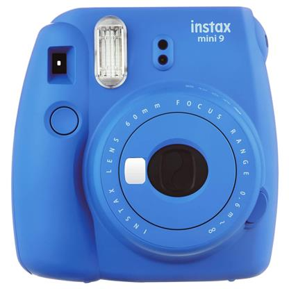 buy FUJIFILM INSTAX CAMERA MINI 9 PLUS COBALT BLUE :Fujifilm