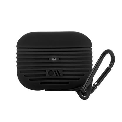 buy Case-Mate AirPods Pro Tough Case Cover Silicone Compatible with Apple AirPods Pro - Black :Casemate