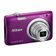 Nikon A100 Point & Shoot Camera (Purple)