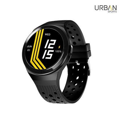 buy URBAN SMARTWATCH URBAN SPORTS BLACK :Smart Watches & Bands