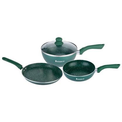 buy WONDERCHEF ROYAL VELVET PLUS SET OLIVE GREEN (63152750) :Wonderchef