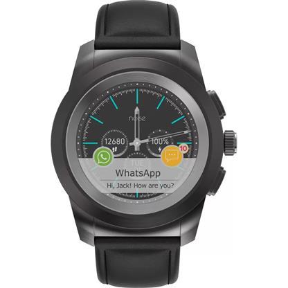 buy Noise NoiseFit Fusion Hybrid Smart Watch with Cloud Based Watch Faces (Classic Black) :Noise