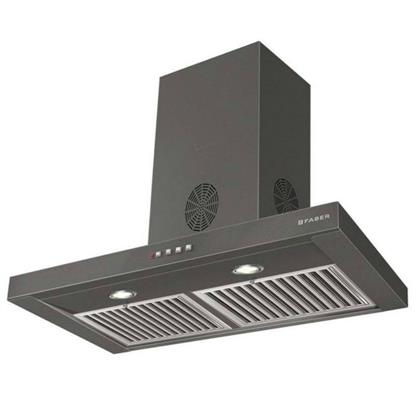 buy FABER CHIMNEY HOOD STILO SLIM 3D PLUS T2S2 BK LTW 90 :Faber