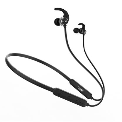 buy BOAT BT LIFESTYLE NECKBAND ROCKERZ 255R Black :Boat