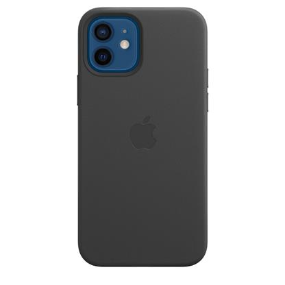 buy IPHONE 12 PRO LEATHER CASE WITH MAGSAFE BLACK :Apple