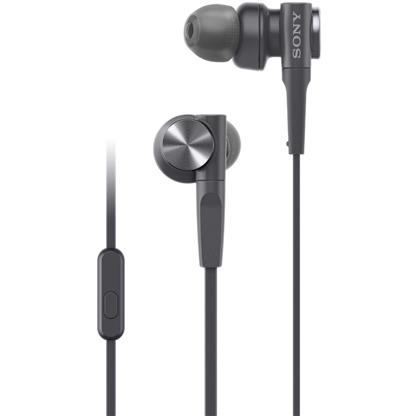 buy SONY EARPHONE MDRXB55AP/BQ BLACK :Sony