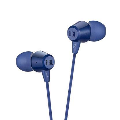buy JBL EARPHONE T50HI BLUE :JBL