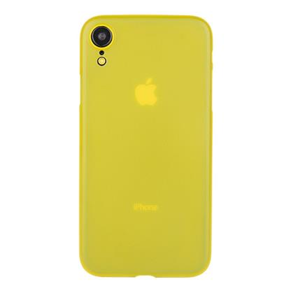 "buy Stuffcool Thins Ultra Slim Back Case Cover for Apple iPhone XR 6.1"" (2018) - Yellow :Stuffcool"