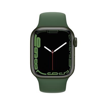 buy APPLE WATCH S7 41MM GRN AL CLVR SP GPS MKN03HN/A :Apple Watch