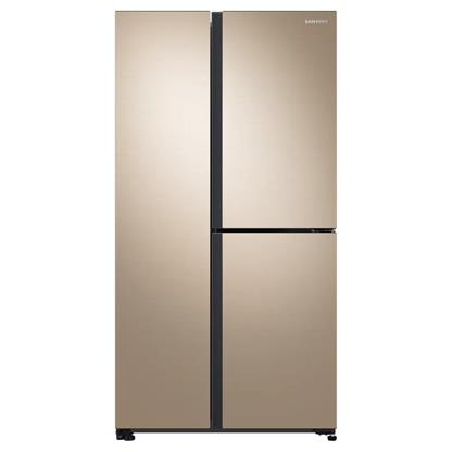 buy SAMSUNG REF RS73R5561F8 GENTLE GOLD :Toughened Glass