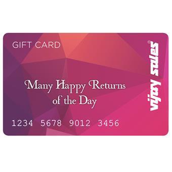 buy Vijay Sales Many Happy Returns Of The Day Gift Card-7500 :