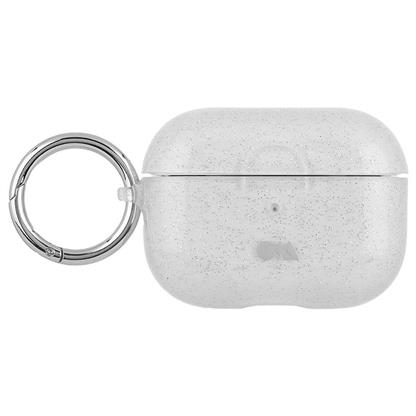 buy Case-Mate AirPods Pro Hookups Case Cover Silicone Compatible with Apple AirPods Pro - Sheer Crystal Clear :Casemate
