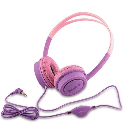 buy IBALL STAR KYDZ DIVA WIRED HEADPHONE VIOLET AND PINK :IBall