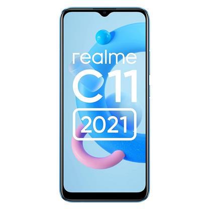 buy REALME MOBILE C11 2021 RMX3231 4GB 64GB COOL BLUE :Cool Blue