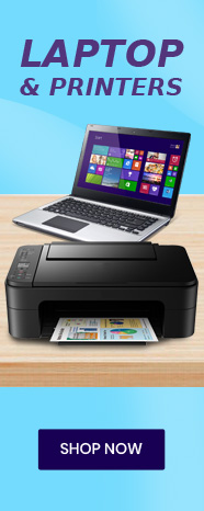 Laptops and Printers!